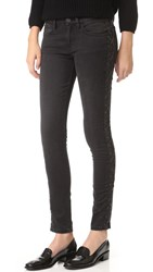 Etienne Marcel Black Lace Up Side Detail Jeans