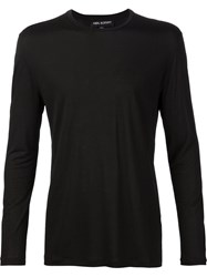 Neil Barrett Long Sleeve T Shirt Black