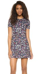 Cynthia Rowley Bonded Mini Floral Dress