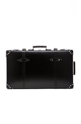 Globe Trotter 30' Centenary Suitcase With Wheels In Black