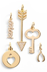 Baublebar 'Key To My Heart' Charms Set Of 5 Gold