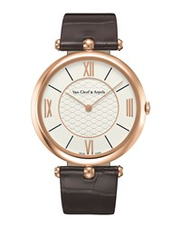 Pierre Arpels Pink Gold Watch 38Mm Van Cleef And Arpels Pink Gold