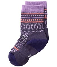 Smartwool Diamond Flush Crew Desert Purple Heather Women's Crew Cut Socks Shoes