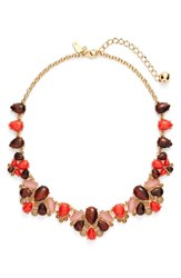Kate Spade Women's New York 'Burst Into Bloom' Crystal Collar Necklace