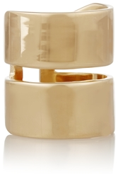 Jennifer Fisher Double Band Gold Plated Ring