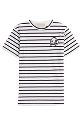 Etre Cecile Striped Cotton T Shirt With Patch Stripes