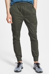 Globe 'Goodstock' Jogger Pants Green
