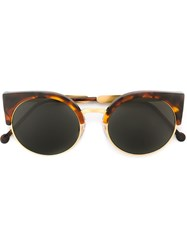 Retrosuperfuture 'Ilaria Havana' Sunglasses Brown