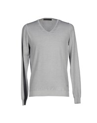 Dondup Knitwear Jumpers Men Light Grey