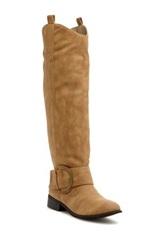Charles Albert Buckle Tall Boot Brown