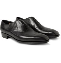 George Cleverley Anthony Churchill Leather Oxford Brogues Black