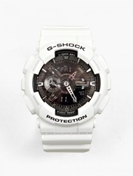 Casio Garish White Ga 110Gw 7Aer Watch