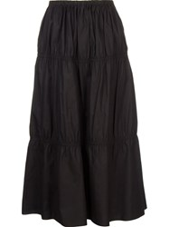 Astraet Flared Maxi Skirt Black