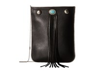 Leather Rock Ce37 Black Cross Body Handbags