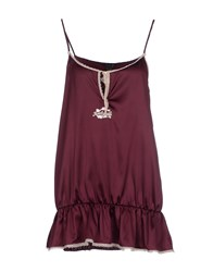 Just Cavalli Underwear Underwear Nightgowns Women Deep Purple