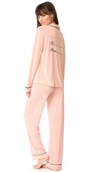 Wildfox Couture From Me To You Pj Set Dusty Rose