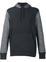 Rag And Bone 'Radford' Hoodie Grey