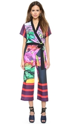 Clover Canyon Painted Garden Jumpsuit Multi