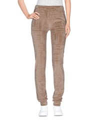 Patrizia Pepe Love Sport Trousers Casual Trousers Women Sand