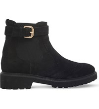 Carvela Slowly Suede Ankle Boots Grey