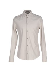 Balenciaga Shirts Shirts Men Light Grey
