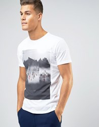 Sisley T Shirt With Graphic Print White 101