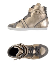 Barbara Bui High Tops And Trainers Platinum