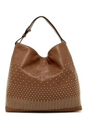 Abro Braveheart Leather Shoulder Bag Brown