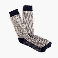 J.Crew Donegal Wool Herringbone Socks