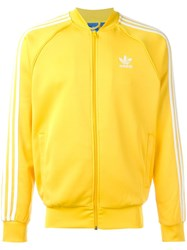 Adidas Originals 'Superstar' Track Jacket Yellow Orange