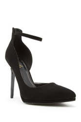 Qupid Rand High Heel Half D'orsay Pump Black