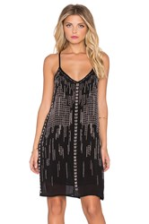 Chloe Oliver The Long Story Short Mini Dress Black