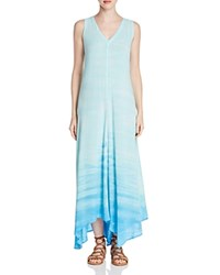 Xcvi Sheraton Draped Tie Dye Dress Beach Wash