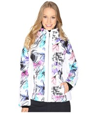 Obermeyer Valerie Jacket X Ray Floral Women's Coat Multi