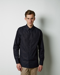 Marni Polo Neck Shirt Navy