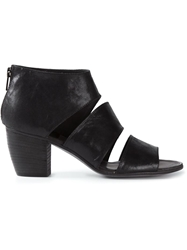 Pantanetti Block Heel Sandals Black