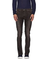 April 77 Denim Denim Trousers Men Dark Brown