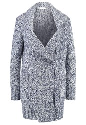 Kiomi Cardigan Blue And White