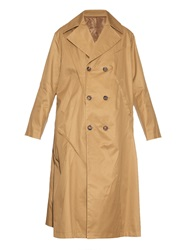 Undercover Oversized Cotton Trench Coat