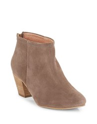 Seychelles Clash Suede Booties Taupe
