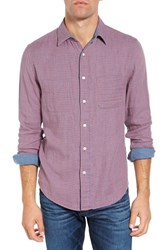 Faherty Men's Doubleface Ventura Trim Fit Plaid Sport Shirt