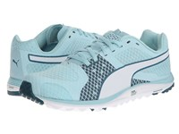 Puma Faas Xlite Clearwater Blue White Women's Golf Shoes