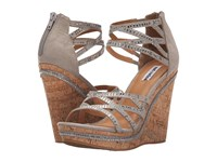 Not Rated Coral Sea Grey Women's Wedge Shoes Gray