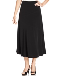 Jm Collection Seamed A Line Skirt