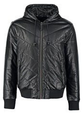 Your Turn Faux Leather Jacket Black