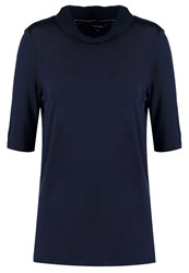 More And More Print Tshirt Marine Dark Blue