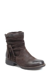 Brn Women's B Rn 'Cross' Bootie Castagno Distressed Suede