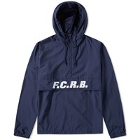 Fc Real Bristol F.C. Packable Anorak Blue