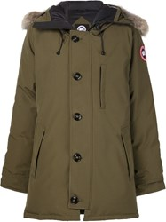 Canada Goose Padded Parka Green