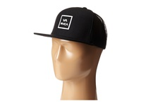 Rvca Va All The Way Trucker Black Caps